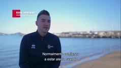 """Elia Viviani y los secretos de un sprint: """"A unos 200 o 180 metros, decido cuando atacar"""""""