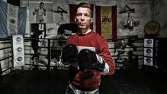 Ángel Moreno, el campeón del barrio que asalta el título mundial en Londres