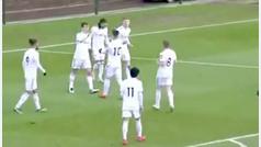 El gol de Diego Llorente con el reservas del Leeds United