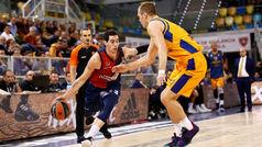 Euroliga. Resumen Gran Canaria 71-84 Baskonia