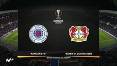 Europa League (octavos, ida): Resumen y goles del Glasgow Rangers 1-3 Bayer Leverkusen