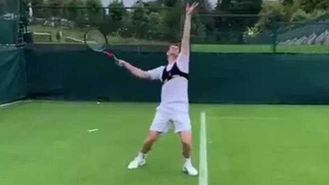 Andy Murray reaparecerá haciendo doble con Feliciano López