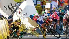 ¿La peor caída en la historia del ciclismo?