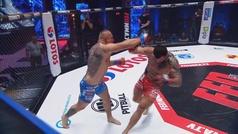 Borowksi sufre la amputación parcial de su oreja durante su combate de MMA contra Trybala