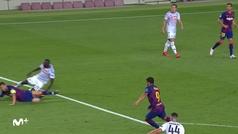 Gol de Luis Suárez (3-0) en el Barcelona 3-1 Nápoles
