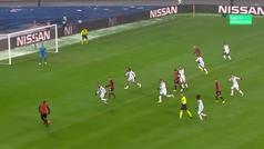 Gol de Moraes (1-0) en el Shakthar 1-1 Lyon