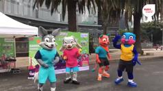 Las mascotas de la Homeless World Cup comienzan a ambientar la CDMX
