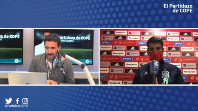 """Morata dans 'El Partidazo' par COPE et Radio MARCA: """"Je suis très reconnaissant à toutes mes équipes, mais je suis de l'Atltico""""  - Championnat d'Europe de Football 2020"""