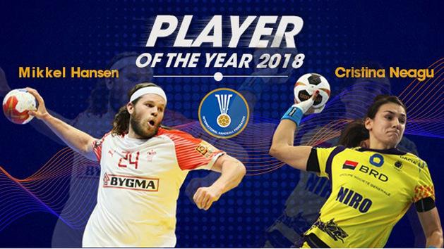 Mikkel Hansen y Cristina Neagu, elegidos ?Mejor Jugadores? de 2018