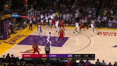 El mate del 'cuarentón' Vince Carter que puso en jaque a los Lakers