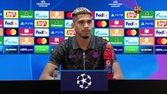 """Araujo: """"Somos el Barça y tenemos que pelear lo más grande, no podemos ir a ver lo que pasa"""""""