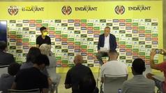 """Presentación oficial de Take Kubo: """"Tenía otras ofertas, pero la del Villarreal era la mejor"""""""