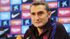 """Valverde: """"He hablado con Piqué y le veo centrado"""""""