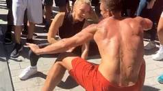 El sensual baile de Rob Gronkowski y Camille Kostek deja sin palabras a la NFL