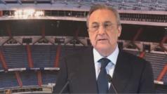 """Florentino: """"Vamos a seguir siendo leales a la forma de entender este deporte"""""""