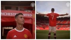 Y Cristiano volvió a pisar Old Trafford con el 7 a la espalda como si no hubiese pasado el tiempo