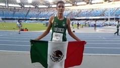 Valente Mendoza, velocista mexicano que busca su clasificación a Tokyo 2020.