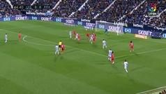 Gol de Jonathan Silva (1-0) en el Leganés 1-1 Real Madrid