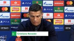 """Cristiano, sobre el Real Madrid: """"Las crisis de los demás no me competen"""""""