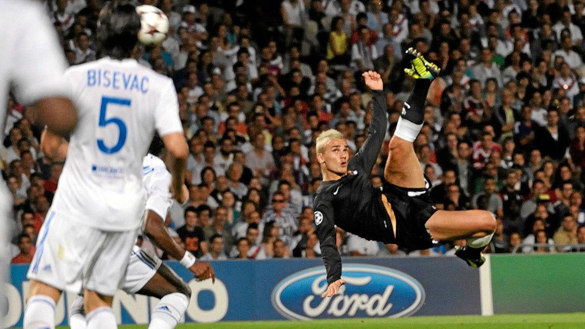 Resultado de imagen de griezmann gol chilena