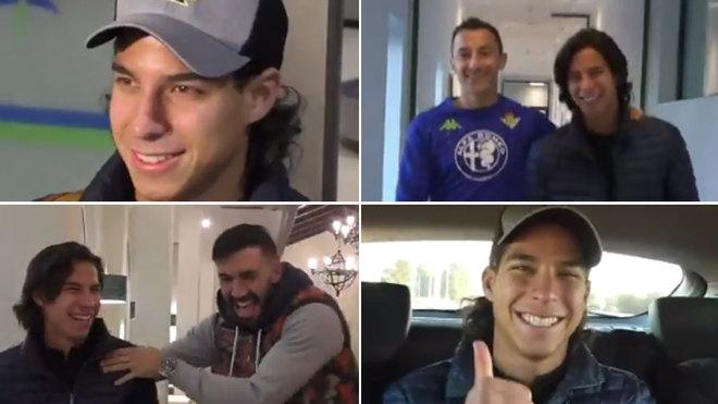 Diego Lainez ya es la sonrisa del Betis