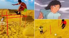 El brutal entrenamiento que supera al de Mark Lenders en la playa: ¡salvajada en las dunas del desie