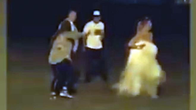 Una novia termina peleando a puño limpio durante su boda