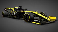 Presentación del equipo Renault F1