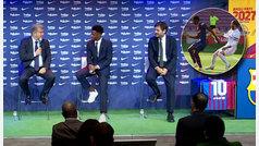 """Laporta recuerda a Ansu el gol que le metió al Madrid: """"Ya sabes cómo se hace"""""""