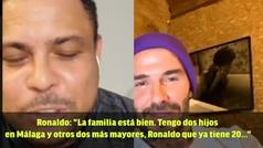 """Ronaldo, Beckham y cómo su hijo se convirtió en DJ: """"Fue mi culpa"""""""
