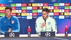 """Koke: """"¿El Atlético italiano? Jugamos con nuestro estilo y nuestra identidad"""""""