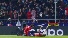 LaLiga (J12): Resumen y goles del Atlético 3-2 Athletic