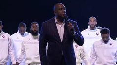 Magic Johnson y el recuerdo a Kobe Bryant con ocho segundos de silencio
