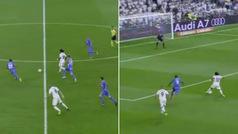 La maravilla de Benzema y Marcelo que puso en pie al Bernabéu