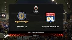 Europa League (J1): Resumen y goles del Rangers 0-2 Lyon