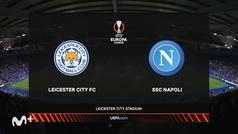 Europa League (J1): Resumen y goles del Leicester 2-2 Nápoles