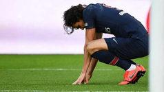 Cavani, gol de penalti y lesión que hace saltar las alarmas Champions del PSG