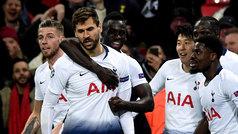 Champions League (octavos, ida): Resumen y goles del Tottenham 3-0 Dortmund