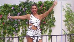 Cristina Pedroche estrena el concurso 'Love Island' con un vestido de Cupido
