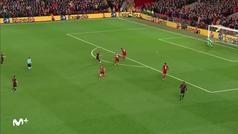 Gol de Marcos Llorente (2-2) en el Liverpool 2-3 Atlético