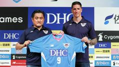 Fernando Torres, presentado como nuevo jugador del Sagan Tosu en Tokio