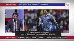 """Miguel Herrera: """"Será importante que haya un informe médico"""""""