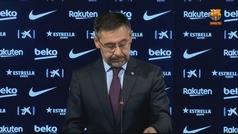 Así aseguró Bartomeu que la entrada del Barça a la Superliga... queda en manos de los socios