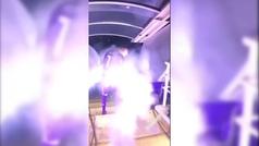 La presentación galáctica de Ribery: de noche, botes de humo, música...