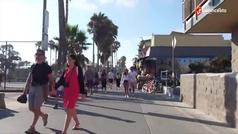 La Selección Española se despide de Estados Unidos en las canchas de Venice Beach