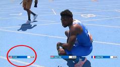 Noah Lyles destroza por error el récord de Usain Bolt