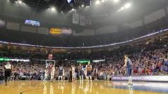 El homenaje de Thunder y Mavericks a Kobe Bryant con Doncic