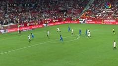 Gol de Ángel (0-2) en el Sevilla 0-2 Getafe