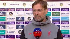 Así fue el cabreo de Klopp tras las camisetas y pancartas en el Leeds-Liverpool