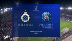 Champions League (J1): resumen y goles del Brujas 1-1 PSG